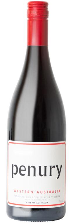 Wine Bottle for La Violetta