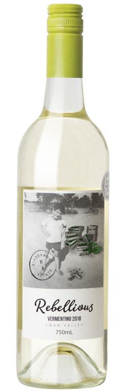 Wine Bottle for Riverbank