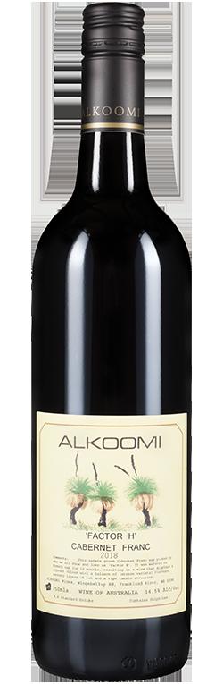 Wine Bottle for Alkoomi Factor H