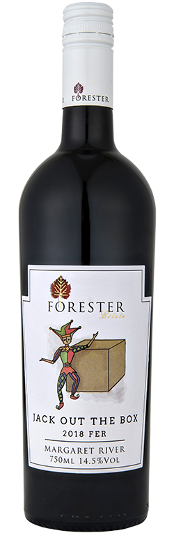 Wine Bottle for Forester Estate Jack out of the Box