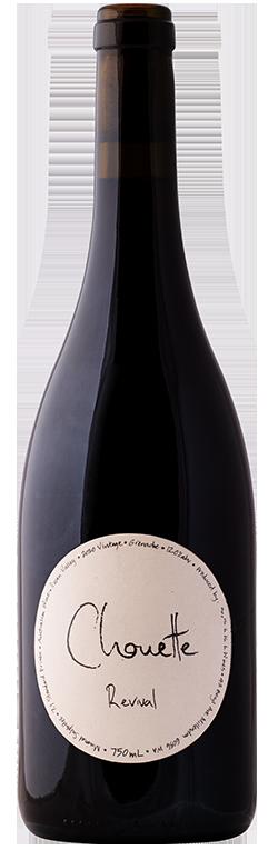 Wine Bottle for Chouette Revival